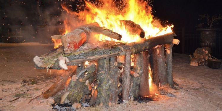 Sant'Antonio Abate le feste nel Vercellese